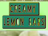 Creamy Lemon {or Lime!} Bars Recipe