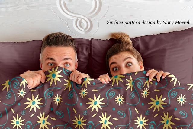 Vintage-Flower-pattern-design-on-comforter