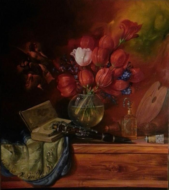 Сербский художник-реалист. Dusan Jovanovic 11