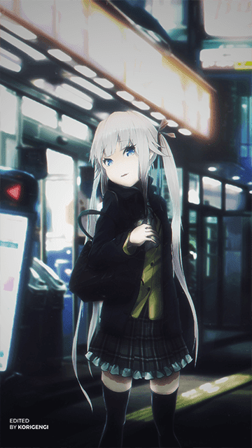 Konbini - Anime Girl Wallpaper