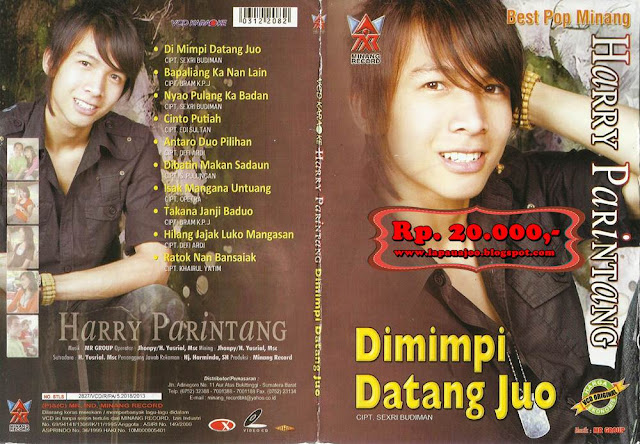 Harry Parintang - Di Mimpi Datang Juo (Album Best Pop Minang)