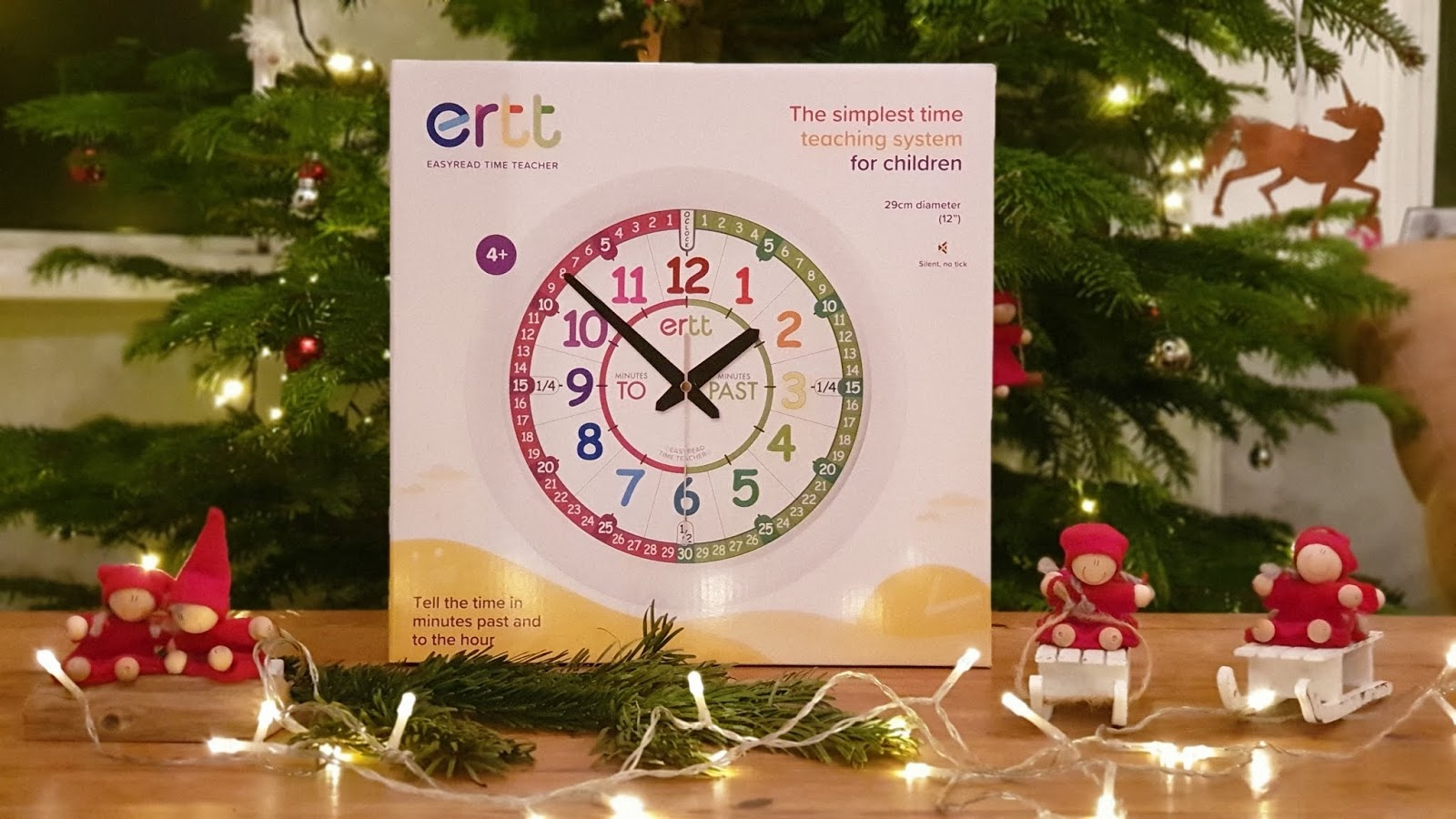 easyread time teaching wall clock