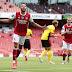 [VIDEO] CUPLIKAN GOL Arsenal 3-2 Watford: The Gunners Tutup Liga Inggris Musim Ini dengan Kemenangan
