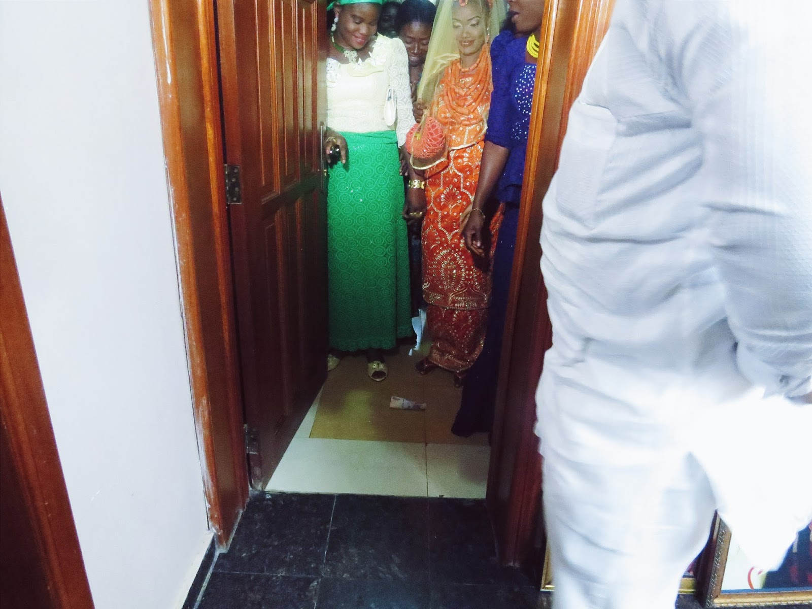 Edo bride on her traditional wedding day