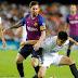 Barcelona y Valencia empataron con goles argentinos