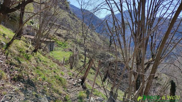 Salida de la Casa del Río la Vara hacia el Prau Antonio