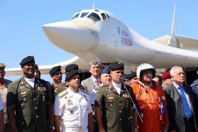 Bombardeiros nucleares russos na Venezuela causaram alarme da NATO