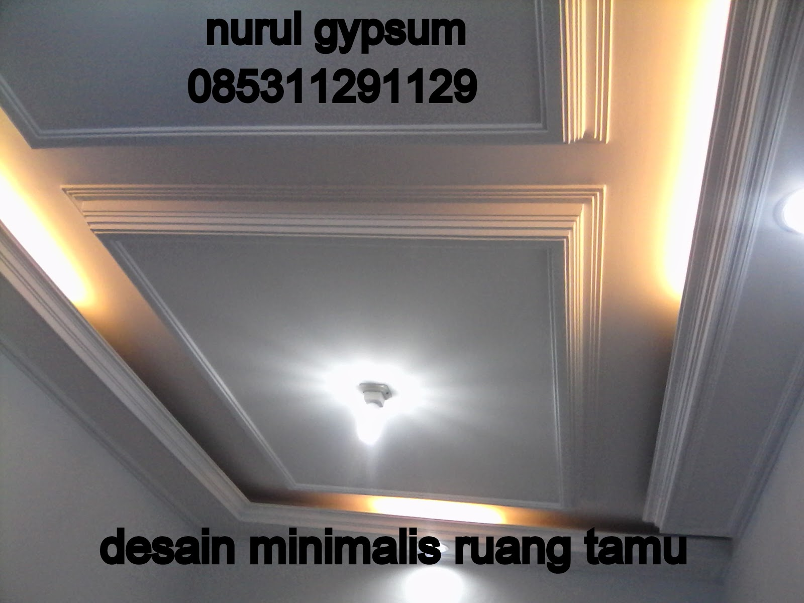 Daftar Harga Pasang Plafon Gypsum Per Meter 087875737328