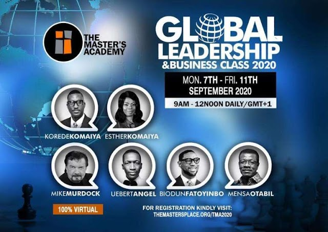 The Master's Academy - Global Leadership & Business Class 2020