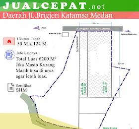 tanah luas di medan di jual daerah jl.bridgen katamso <del>Rp 150.000.000.000,-</del> <price>Rp 120.000.000.000,-</price> <code>MH-HOT1</code>