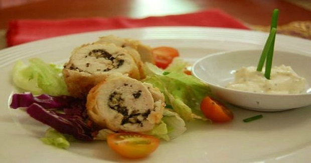 Chicken Cordon Bleu/ Laing Stuffed Chicken Recipe