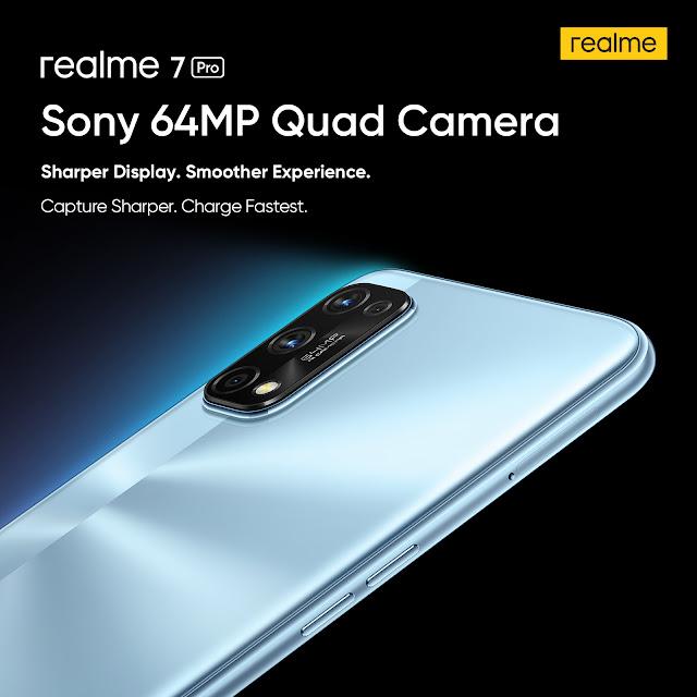 gambar  harga realme 7 prorealme 7 sony 64mp quad