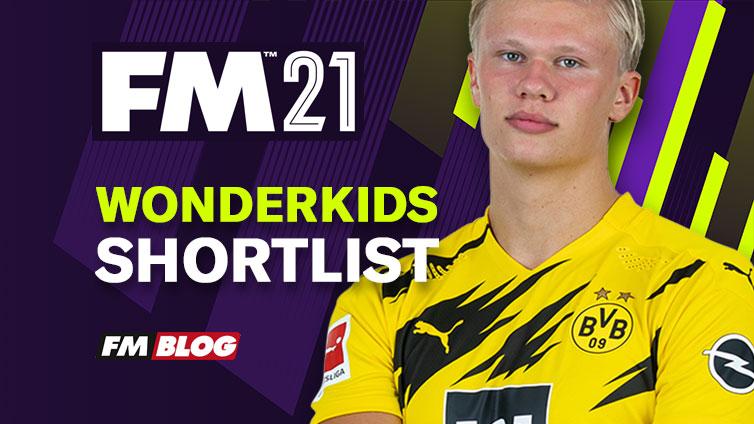 Football Manager 2021 Wonderkids Shortlist | FM21