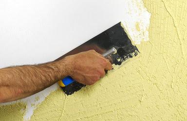 comment repeindre un mur la peinture caill e. Black Bedroom Furniture Sets. Home Design Ideas