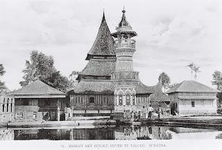 Mesjid di Sumatera Barat tempo dulu