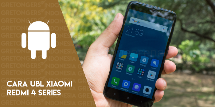 Cara Mudah Unlock Bootloader Xiaomi Redmi 4 Series (4A, 4X, 4 Prime)