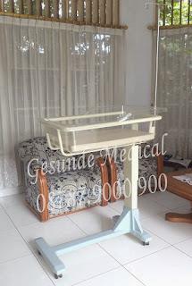 grosir overbed baby bassinet acare