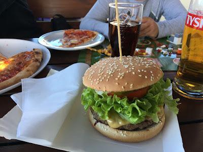 burger restauracja Albatros Sarbinowo
