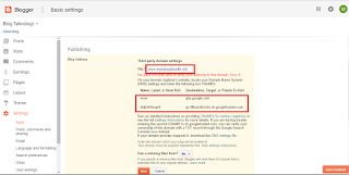 Cara Setting Domain Namecheap ke Blogger