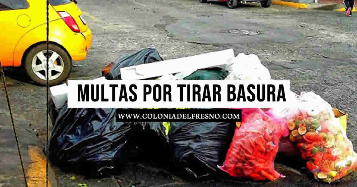 basura en las calles de Guadalajara