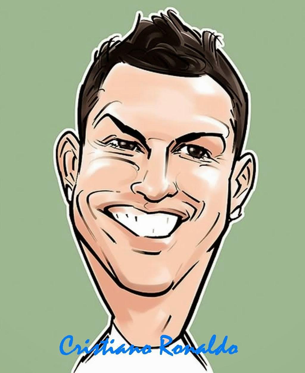 Gambar Lucu Kartun Pemain Bola