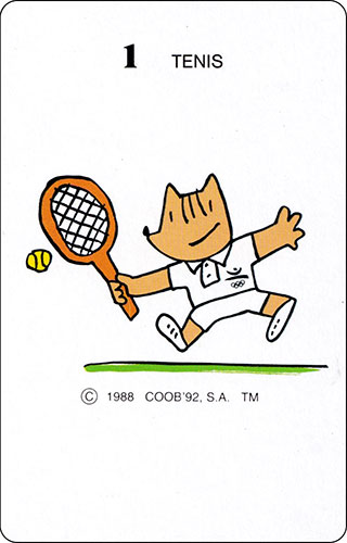 Baraja Cobi Heraclio Fournier Carta 1 Tenis