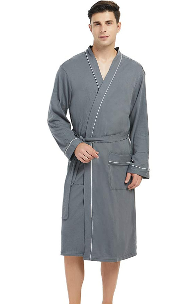 men cotton robe