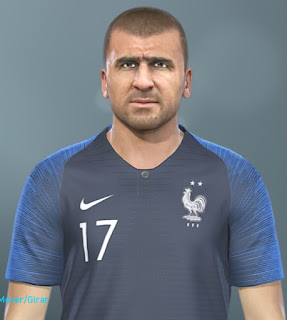 PES 2019 Faces Éric Cantona by MinchoSheen