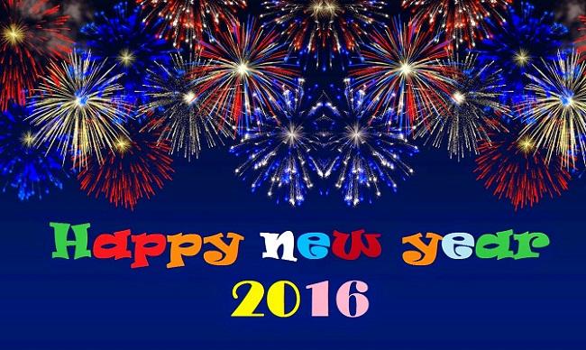 Happy new year : Happy New Year 2016 Whatsapp 1 Line Status