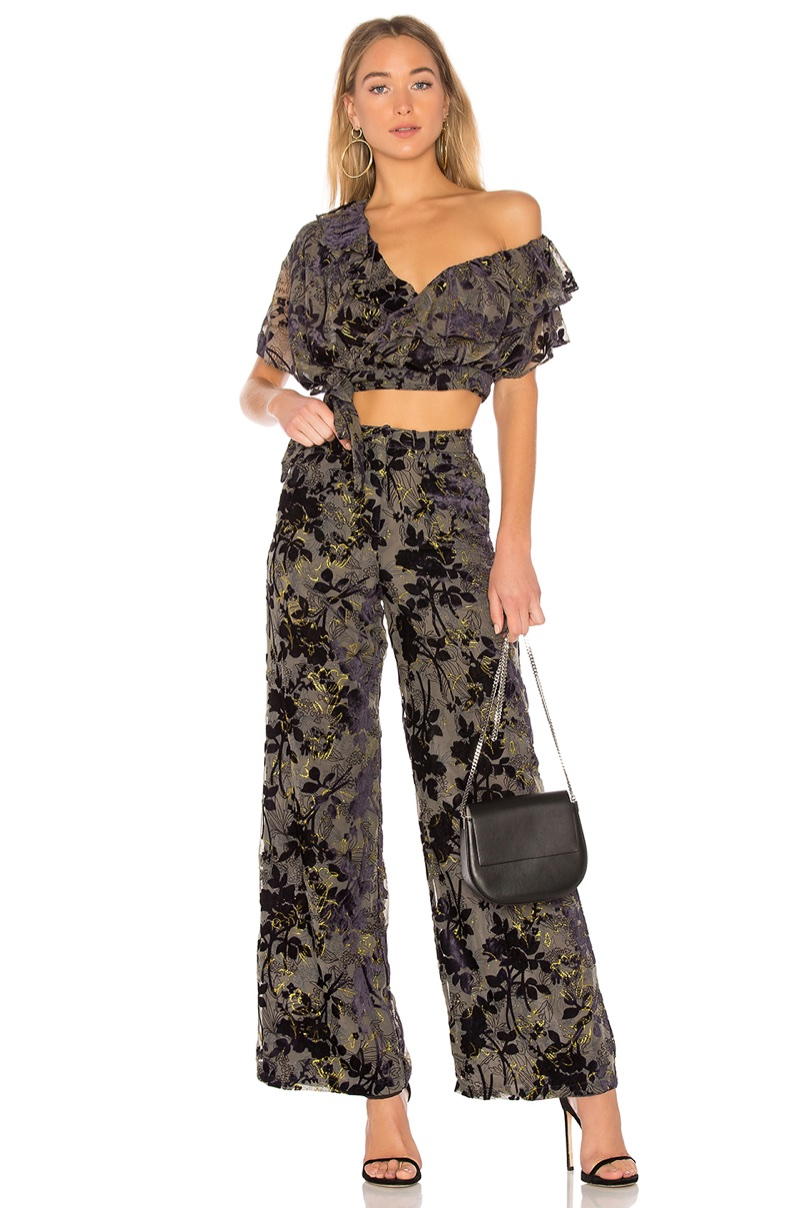 House of Harlow 1960 x REVOLVE 'Azalea' Top $138 and 'Mona' Pant