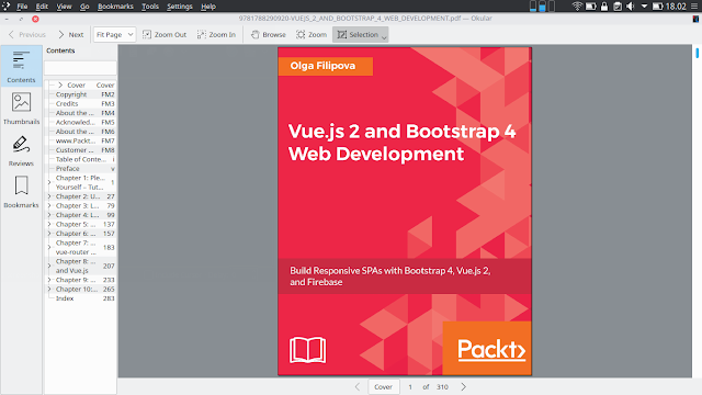 VueJS 2 and Boostrap 4 Web Development
