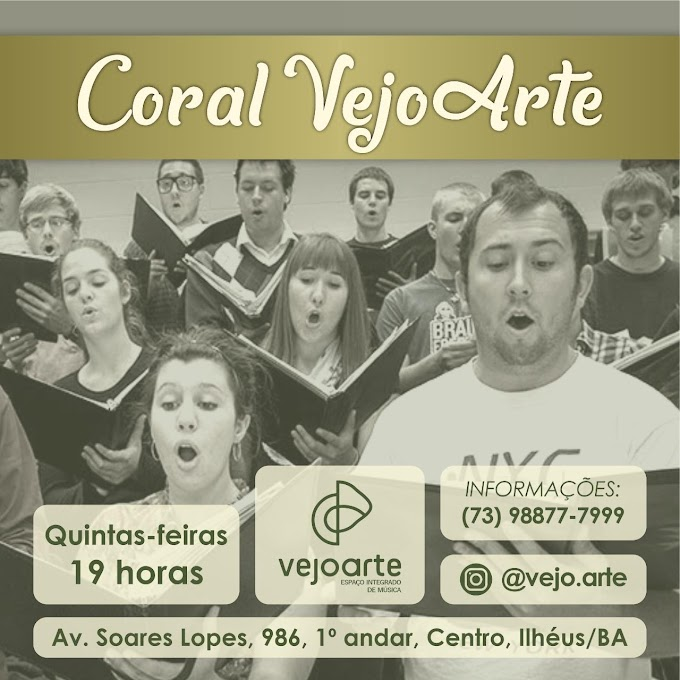 Cante no Coral Vejo Arte!