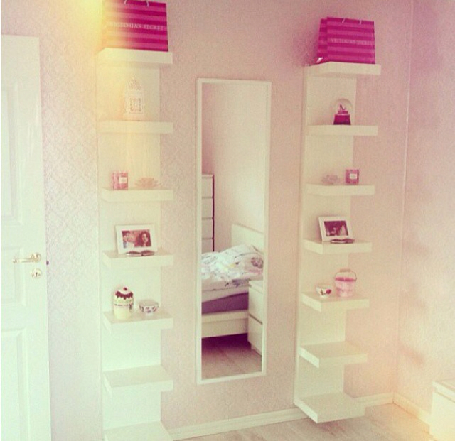 20 Cute Girls Bedroom Shelves - Decor Units