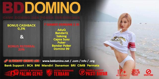 Agen Judi Poker Online Terpercaya BdDomino