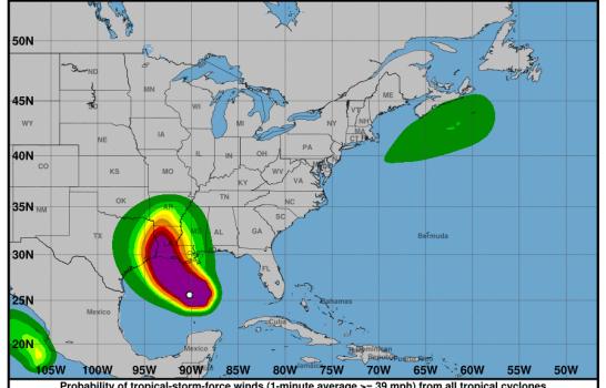 Huracán Laura sube a categoría 3 y amenaza las costas de Estados Unidos