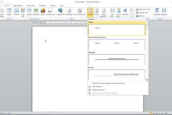 Cara Membuat Kop Surat Di Microsoft Word Mudah Untuk Pemula