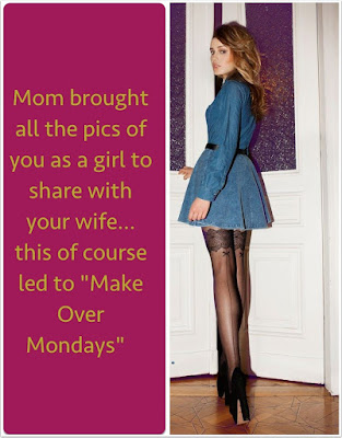 Makeover Mondays Sissy TG Caption - Dream TG Captions - Crossdressing and Sissy Tales and Captioned images