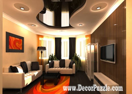 pop ceiling designs for living room 2018