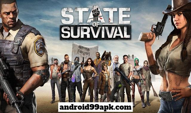 لعبة State of Survival v1.5.62 مهكرة كاملة بحجم 159 MB للأندرويد