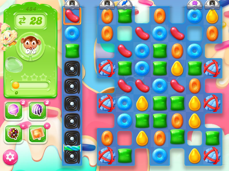 Candy Crush Jelly Saga 484