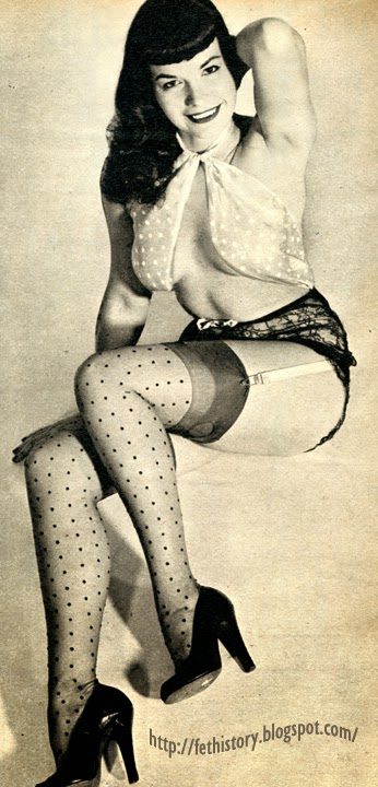 "Bettie ""Betty"" Page, Richard Pérez Seves"