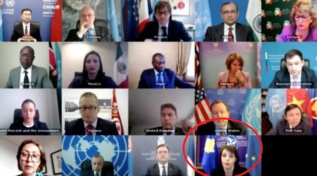 La bandiera del Kosovo diventa motivo dell'interruzione della riunione del Consiglio di sicurezza all'Onu