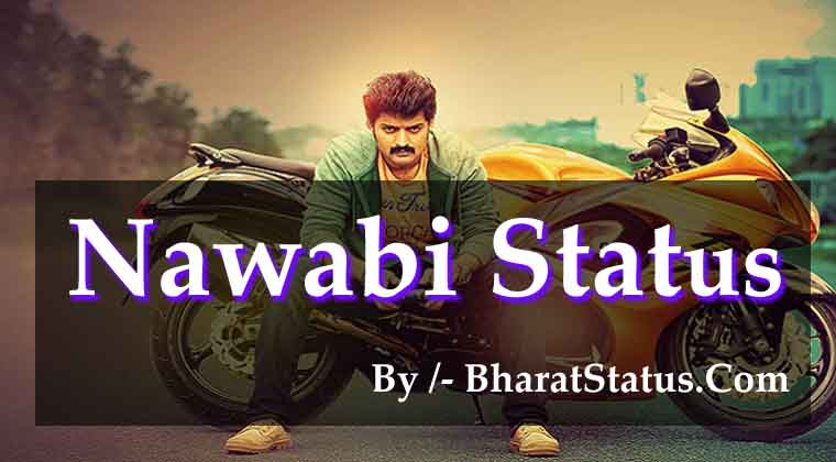 Royal Nawabi Attitude Status Shayari in Hindi 2019 - BharatStatus
