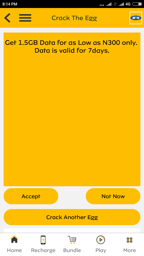 Get 1.5GB For Just N300 on MTN Network – Works on All Devices