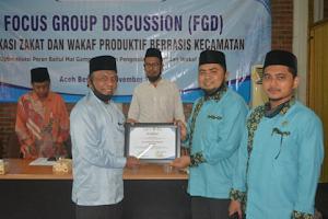DPW LPPEKOP-BKPRMI Aceh dan Badan Baitul Mal Aceh  melaksanakan Seminar Zakat-Wakaf Produktif Aceh