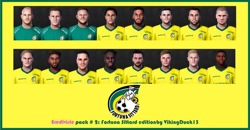 Fortuna Sittard Facepack For eFootball PES 2021