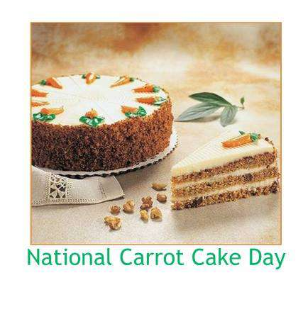 National Carrot Cake Day Wishes Images