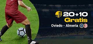 bwin promocion Oviedo vs Almeria 1-11-2019