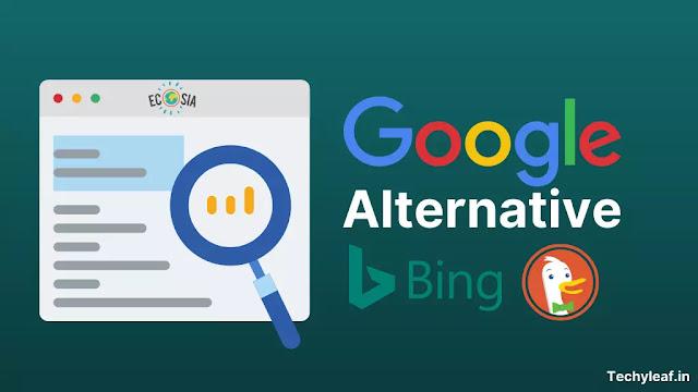 Alternative search engine to Google
