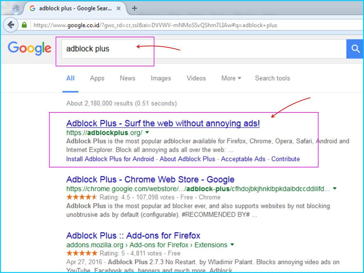 Adblock Plus - Cari Situs adblockplus.org Di Google